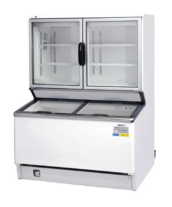 冷凍デュアルショーケース